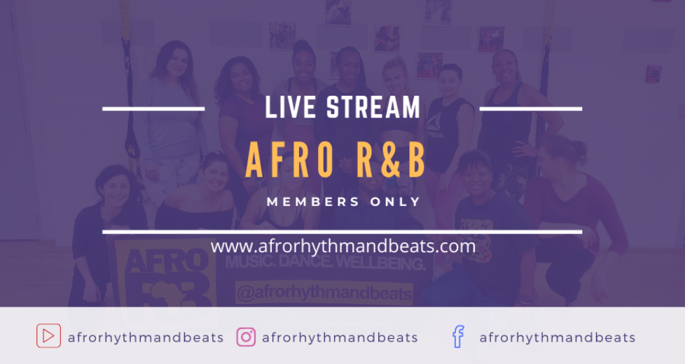 Afro R&B Live Stream